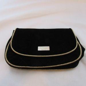 Dior Parfums Black Velvet Makeup Bag